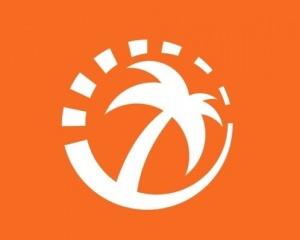 Оранжевый остров в парке Победы