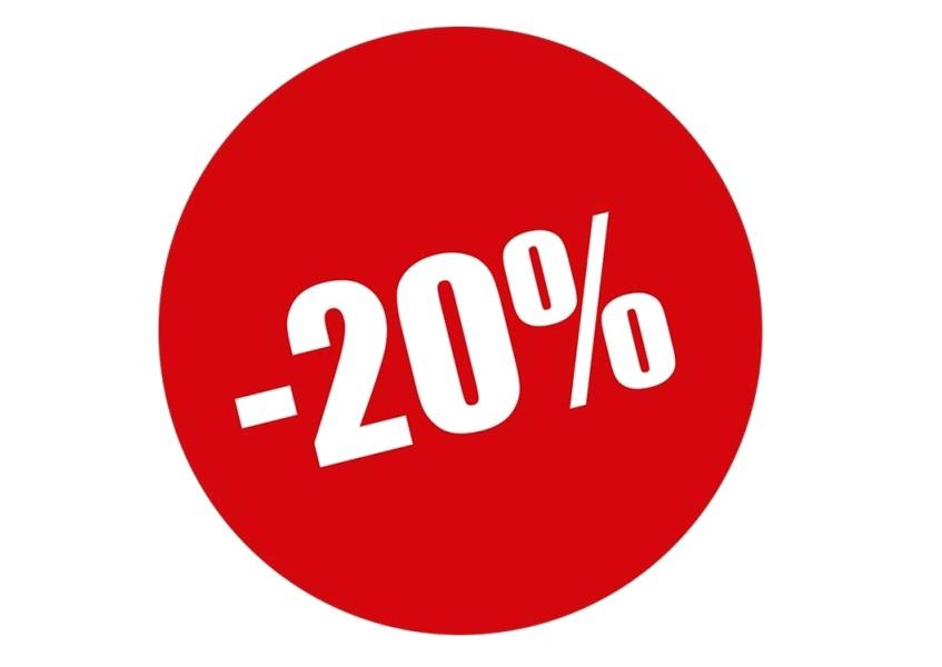 Скидка 20% на заказ!