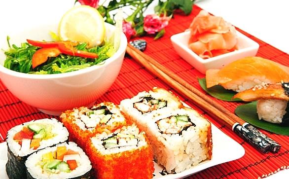 Акция в Forno a Legna! 50% скидка на суши и роллы!