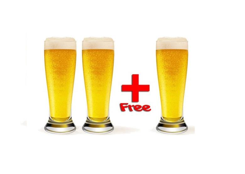 Берёшь два пива на розлив и получаешь одно в подарок!