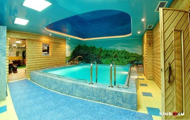 Баня с теплым бассейном тольятти